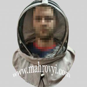 Европейская маска для пчеловода лен-габардин
