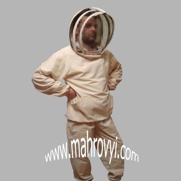 костюм пчеловода бязь с евро маской
