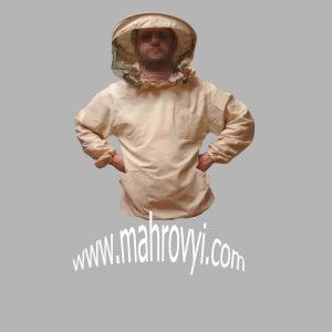 Куртка пчеловода бязь с круглой маской